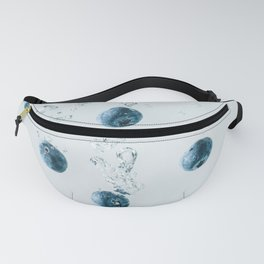Sinking blueberries Fanny Pack