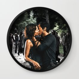 Love and Walkers Wall Clock
