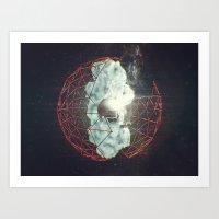 SpaceWad Art Print
