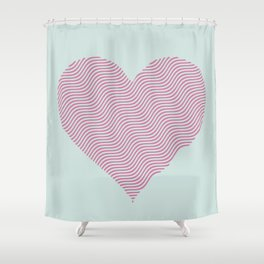 Breaking the Waves Shower Curtain