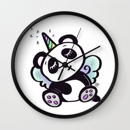 Unicorn Pandy Wall Clock