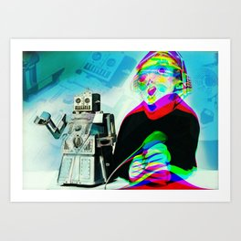 Brainwashed Art Print