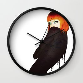 The Girl 5 Wall Clock