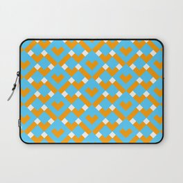 Graphic Hearts Pattern Laptop Sleeve