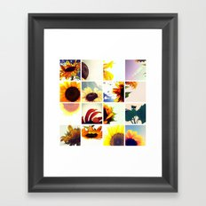 FLOWER 037 Framed Art Print