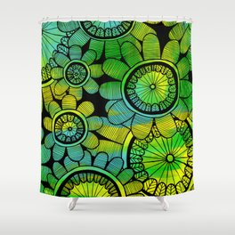 Big Floral 2 Shower Curtain
