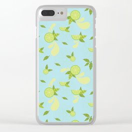 Lime Slice Clear iPhone Case