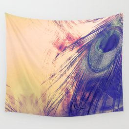 Peacock Eye Wall Tapestry