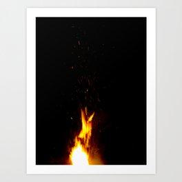 Fire Up Art Print