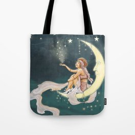 It's In The Stars – Gypsy Moon Tote Bag