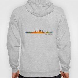 San Antonio City Skyline Hq v1 Hoody