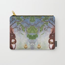 A fuzzy feeling - squirrel Carry-All Pouch