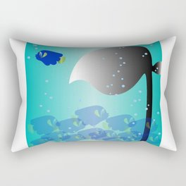 It's Okay to be Different Rectangular Pillow