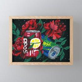 COSMIC DRINK Framed Mini Art Print