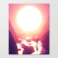 SET / RISE (everyday 08.11.17) Canvas Print