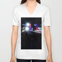 concert V-neck T-shirts featuring CONCERT by Eclectic House Of Art