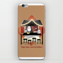 No Face Kaonashi Selling Udon iPhone Skin