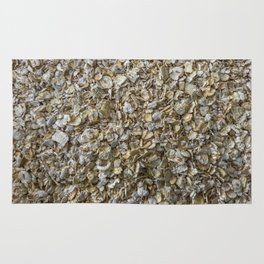 Top view shot of Oatmeal texture. Rug