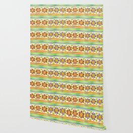 Parterre Botanique Floral Wallpaper