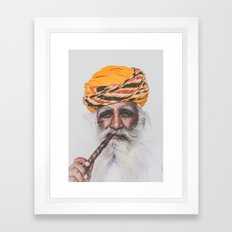 Jodhpur (colour) Framed Art Print
