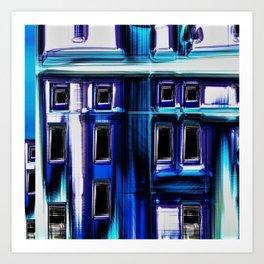 Blues City by Jeanpaul Ferro Art Print