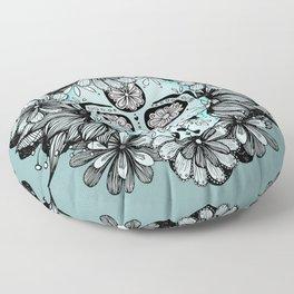 Blue Sugar Floor Pillow