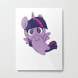 Twilight Sparkle cutie  Metal Print