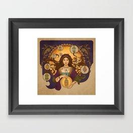 Lanterna magica Framed Art Print