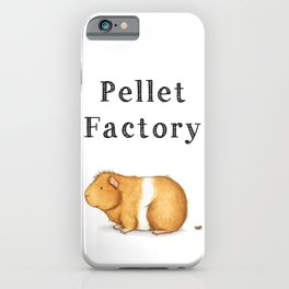 Pellet Factory - Guinea Pig Poop iPhone Case