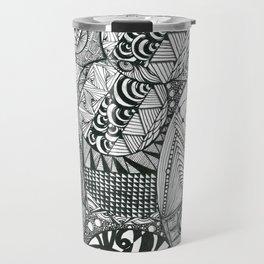 Circles - 1 Travel Mug