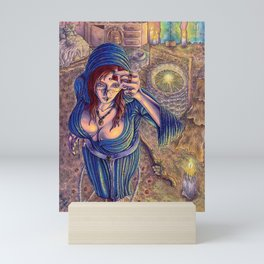 Völva Mini Art Print