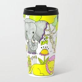 African Animals Travel Mug