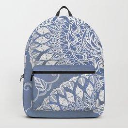 Paisley Moon Henna Mandala Backpack