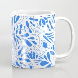 Flora in Blue Coffee Mug