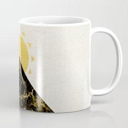 Golden sunrise in Montenegro Coffee Mug