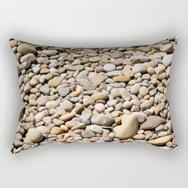 River Rocks Pebbles Rectangular Pillow