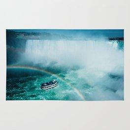 Niagara Falls Rainbow Rug