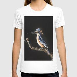 Kingfisher Painting T-shirt