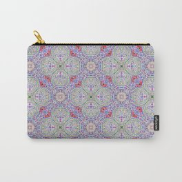 Lavender Hopscotch Carry-All Pouch