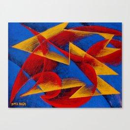 Line of Speed by Giacomo Balla Canvas Print