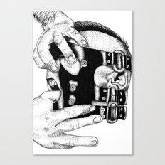 hot man vicious Canvas Print