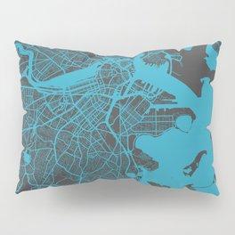 Boston map Pillow Sham