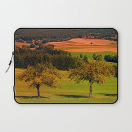 Two rival trees Laptop Sleeve