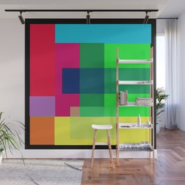 Color Combination by Adam Asar  2 Wall Mural