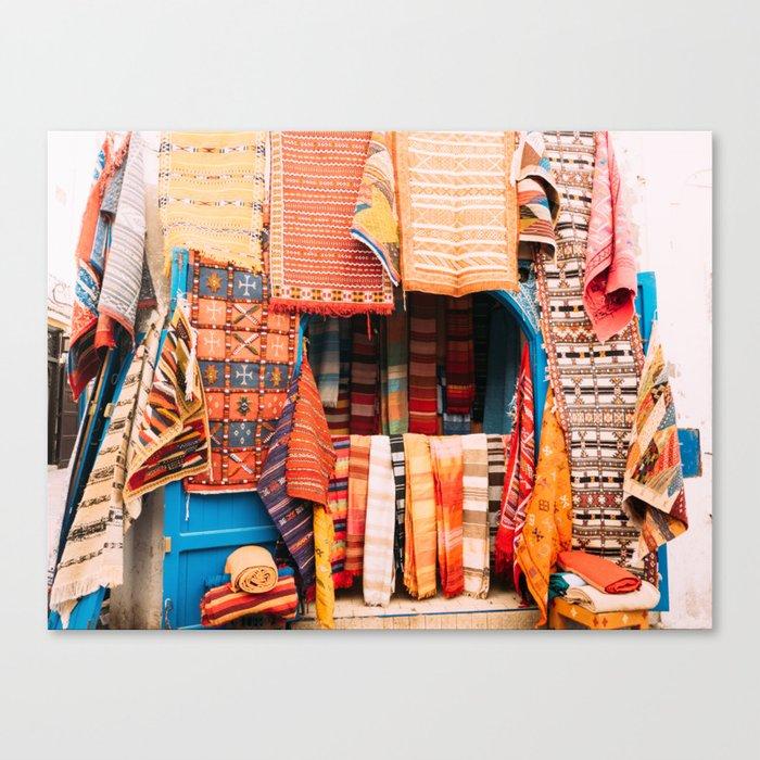 RIOT OF COLOUR Canvas Print