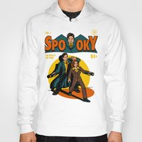 comic Hoodies featuring Spooky Comic by harebrained