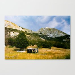 Lonely Shed Canvas Print
