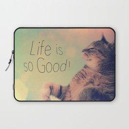 Dancing Kitty Cat Laptop Sleeve