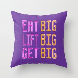 Big x 3 (#12) Throw Pillow