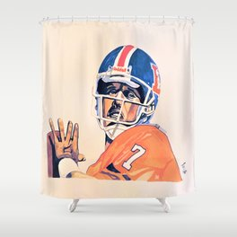 Broncos Shower Curtains